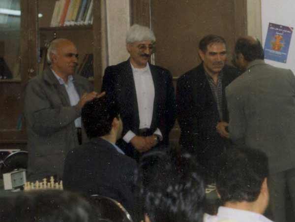 اقایان احمد همدانیان - احمد یزدان دوست و عبدالکریم امیری