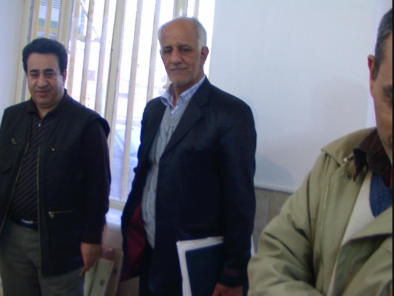 اقایان علی هاشمی تهرانی و حسین گلشنی